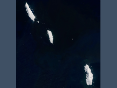 Landsat/Sentinel-2 mosaics of the Balleny Islands
