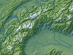 glaciers data illustration