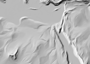 generalized shaded relief example zoom=3