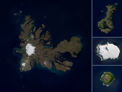 Landsat/Sentinel-2 mosaics of the Subantarctic Islands