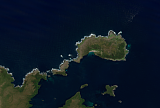Sentinel-2 mosaic of the Auckland Islands sample: North End Auckland Islands