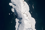 Sentinel-2 mosaic of the Balleny Islands sample: Sturge Island