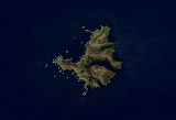 Landsat/Sentinel-2 mosaic of the Campbell Islands
