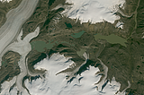 Greenland mosaic sample: Eastern Greenland (dark version)