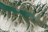 Greenland mosaic sample: Coast northern Ellesmere Island