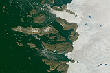 Greenland mosaic sample: Northwest Greenland ice
