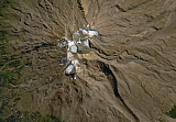Sentinel-2 mosaic of New Zealand sample: Mount Ruapehu
