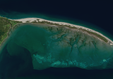 Sentinel-2 mosaic of New Zealand sample: Farewell Spit