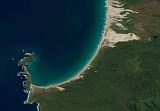 Sentinel-2 mosaic of New Zealand sample: Stewart Island