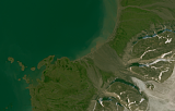 Sentinel-2 mosaic of Svalbard sample: Edgeøya