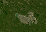 Scandinavia mosaic sample: Open pit mine