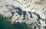 Landsat mosaic of South Georgia sample: Mount Paget
