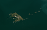 Landsat mosaic of South Georgia sample: Annenkov Island