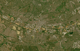 Sentinel-2 mosaic of southern Africa sample: Johannesburg