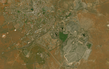 Sentinel-2 mosaic of southern Africa sample: Kimberley