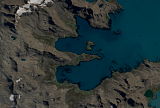 Sentinel-2 mosaic of South Georgia sample: Stormness Bay