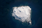 Landsat/Sentinel-2 mosaic of the South Sandwich Islands sample: Montagu Island