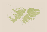 Sentinel-2 vegetation map of the Falkland Islands