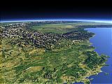 Die französischen Alpen und die Provence