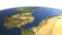 The western Mediterranean Sea