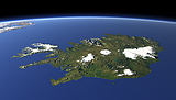 Iceland from South