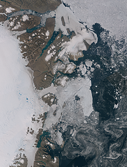 Northeast Greenland in August