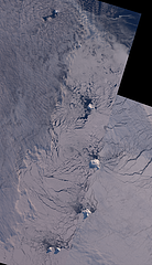 The South Sandwich Islands in late Winter