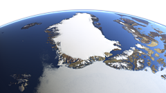 Greenland from north