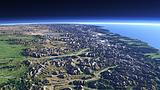 Ostseite der Neuseeländische Alpen