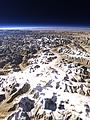 The Fedchenko Glacier